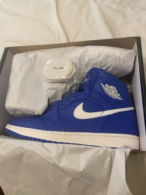 Brand new Jordan retro 1 high hyper blue size 9.5 with box for Sale in San Antonio, TX