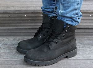 Black timberlands with box for Sale in Dallas, TX