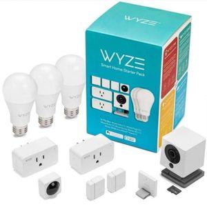 Wyze Smart Home Starter Pack BONUS 32GB SD Card Security Camera - Alexa / Google for Sale in Beachwood, NJ