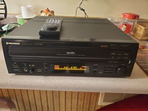 pioneer autoreverse laserdisc player for Sale in Elizabethtown, PA