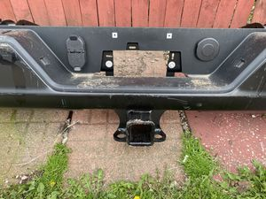 Parts rear bumper with tow hitch 2020 Chevy Silverado. for Sale in Oak Lawn, IL