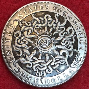 Illuminati Eye Morgan Dollar Art Coin. Tibetan Silver Coin. First $20 Offer Automatically Accepted. Shipped Same Day for Sale in Damascus, OR