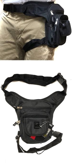Brand NEW! Black Waist/Hip/Thigh/Leg Holster/Pouch/Bag For Work/Traveling/Hiking/Sports/Gym/Biking/Fishing/Camping $13 for Sale in Carson, CA