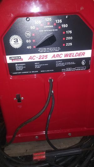 Lincoln arc welder for Sale in Renton, WA