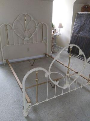 Queen Iron bedframe for Sale in Evans, GA