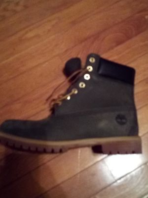 Money Green Timberlands. Only worn once!! Like new condition!! for Sale in Brentwood, NC