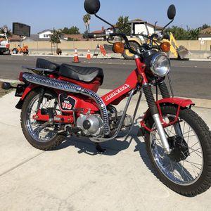 84 Honda 110 trail bike mint condition Unrestored for Sale in Huntington Beach, CA