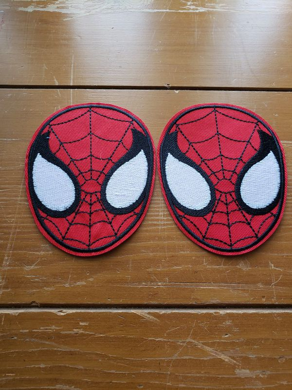 Spiderman 2 lot patch new Iron On patch or sewed on 4in x 3in