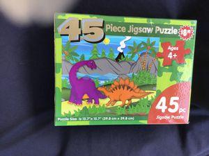 Dinosaur puzzle for Sale in Chula Vista, CA