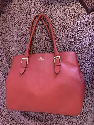 Kate spade red tote bag | genuine for Sale in Pittsburgh, PA