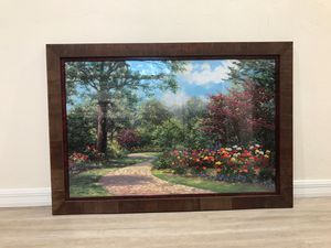 Landscape artwork - custom framing for Sale for sale  Gainesville, FL