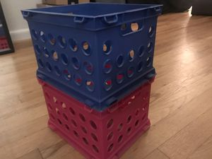 Stackable storage containers for Sale in Atlanta, GA