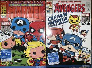 Target Exclusive Marvel 80 Years Fukno Pop! Tees for Sale in Los Angeles, CA