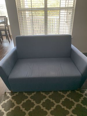 Blue sofa/love seat for Sale in Durham, NC