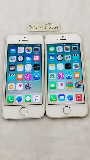 iPhone 5S (Silver & Gold) *T-Mobile • Metro PCS* for Sale in Pembroke Pines, FL