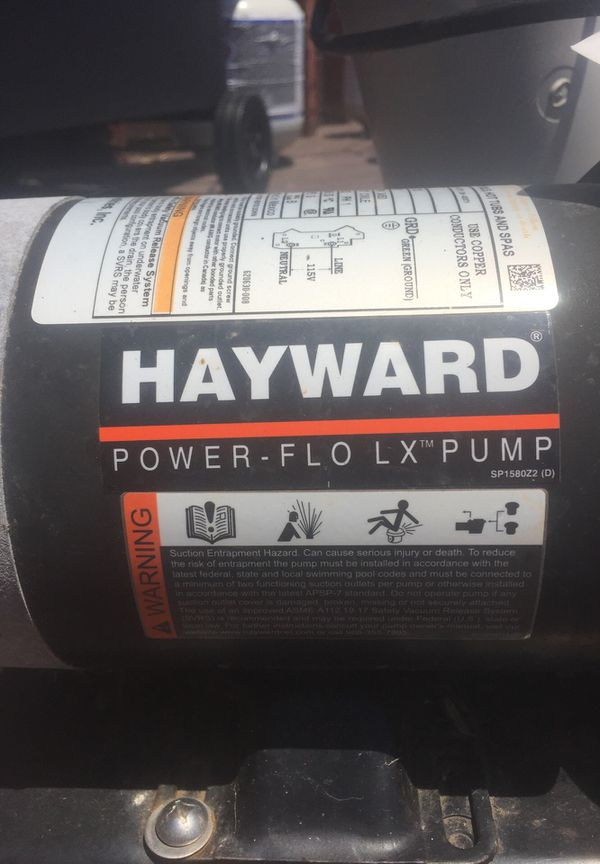 Hayward pool pump