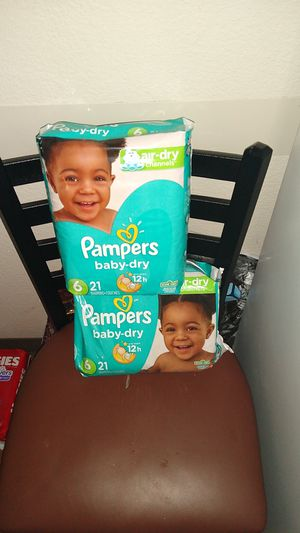 Size 6 Pampers 26 count for Sale in Keizer, OR