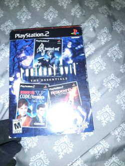 Resident Evil Essentials 3pk  for Sale in Houston, TX