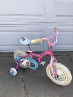 Training wheels bike size 12 1/2 look at all the pictures for Sale in Whittier, CA
