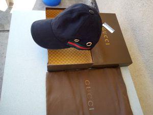 Gucci GG supreme canvas black hat for Sale in Irwindale, CA