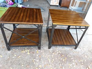 Winston End Tables (Pair) for Sale in Austin, TX