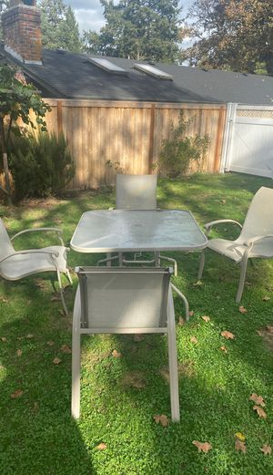 Patio Table Set for Sale in Portland, OR