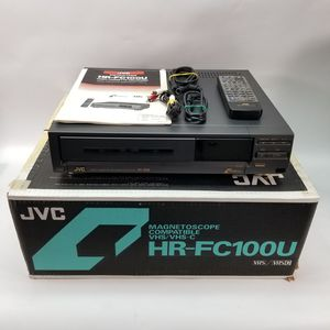 JVC Hi-Fi Stereo Video Cassette Recorder HR-FC100U VCR VHS/VHS-C w/Remote & Box for Sale in Germantown, MD