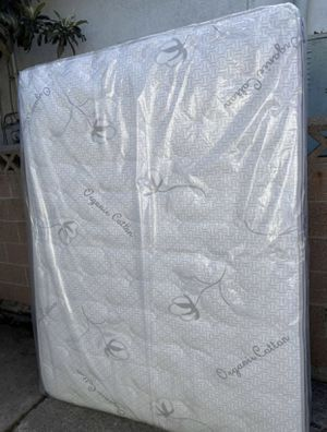 Queen size mattress set with spring box included for Sale in West Covina, CA