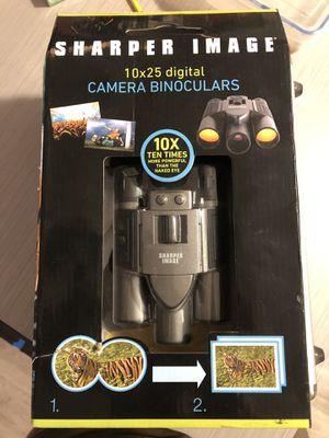Sharper Image Camera Binoculars 10x25 Digital / 25mm Objective Lens / LCD Display / Sony Canon for Sale in Tampa, FL