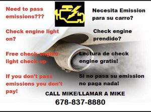 100% emission pass for Sale in Duluth, GA