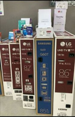 SAMSUNG and LG Smart 4K Tvs 💝with ps4 or Soundbar 👉 No Credit CHECK 🧿Down $39 🧿 Have delivery🧿SRH for Sale in Houston,  TX
