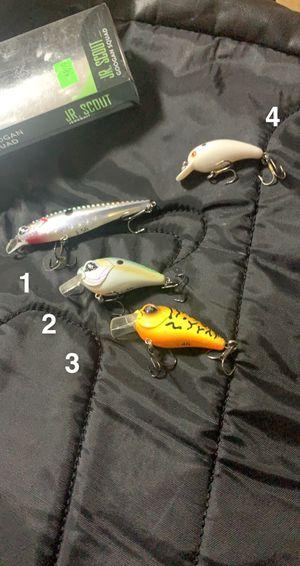 Googan baits fishing hard baits for Sale in Fort Worth, TX
