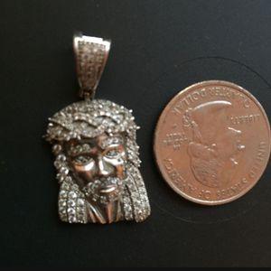 925 Silver Jesus Pendent for Sale in Manteca, CA