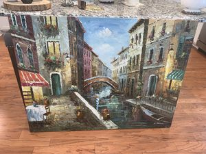 Venice canal painting for Sale in Nashville, TN