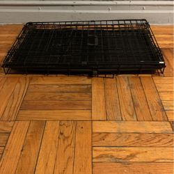 Dog Crate Kennel Folding Metal Pet Cage 1-2 Door Indoor Outdoor Black for Sale in The Bronx,  NY