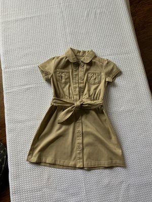 Girl uniform dress size4 for Sale in Rancho Cucamonga, CA