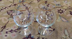 Collectable Coke~Cola Glasses With Gold Rim for Sale in Graham, NC