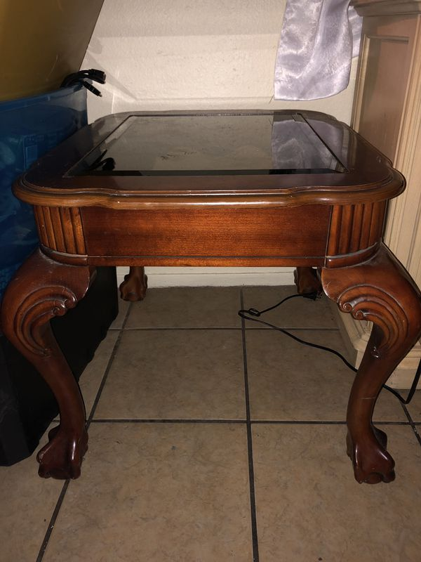 Sturdy side table
