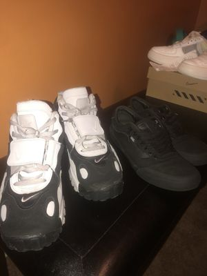 Vans size 10 and nikes size 11 trades for a decent Jordans retro for Sale in Indianapolis, IN