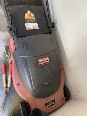 Craftsman Electric Lawn Mower for Sale in Aspen Hill, MD