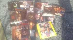 lot of 30+ laser disc movies rare for Sale in Atlanta, GA