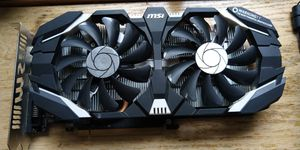 MSI GeForce GTX 1060 3GB for Sale in Ogilvie, MN