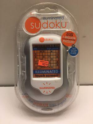 Sudoku Illuminated. Electronic Handheld. Puzzle Game. Sealed for Sale in Elgin, IL
