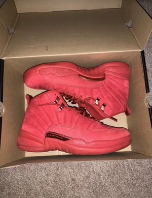 Jordan 12 all red for Sale in Stone Mountain, GA