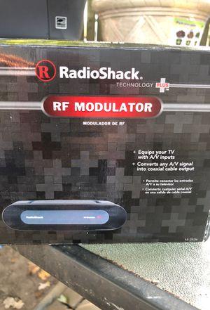 Radio shack RF modulator for Sale in Morrisville, PA