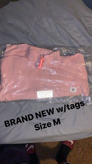 Supreme reflective zip up sweater for Sale in Fontana, CA