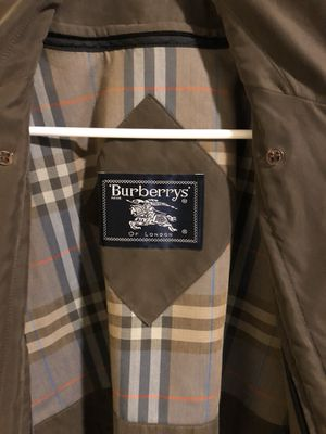 Authentic Burberry's Trench Coat Rain Jacket for Sale in Portland, OR