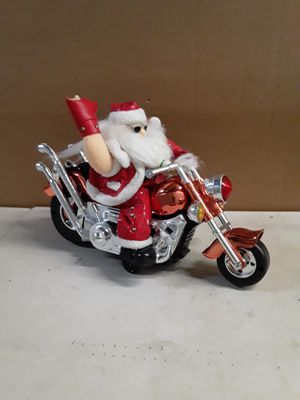 Santa on chopper motorcycle for Sale in Providence, RI