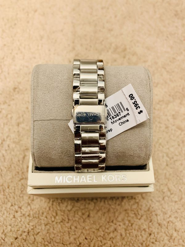 NWT! Michael Kors Chronograph Watch for Women's