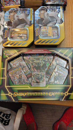 Pokemon shiny rayquaza ex box for Sale in Gulfport, FL